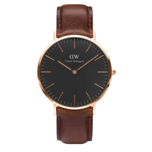 Daniel Wellington Classic Black Bristol 40mm Rose Gold