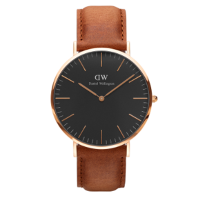 Daniel Wellington Classic Black Durham 40mm Rose Gold
