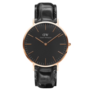 Daniel Wellington Classic Black Reading 40mm Rose Gold