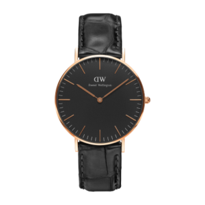 Daniel Wellington Classic Black Reading 36mm Rose Gold