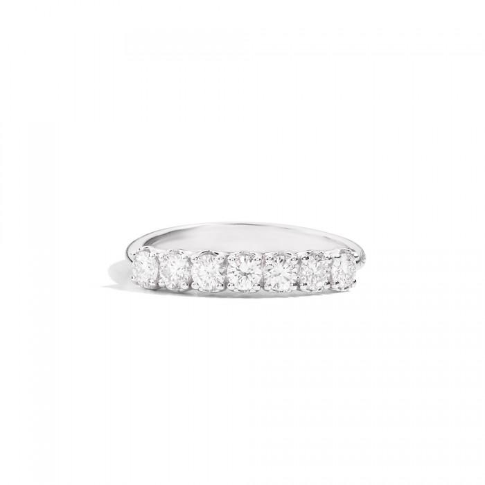 ReCarlo Anniversary Anello 7 Diamanti Oro Bianco